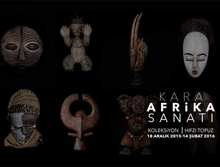Kara Afrika Sanatı Folkart Gallery'de!