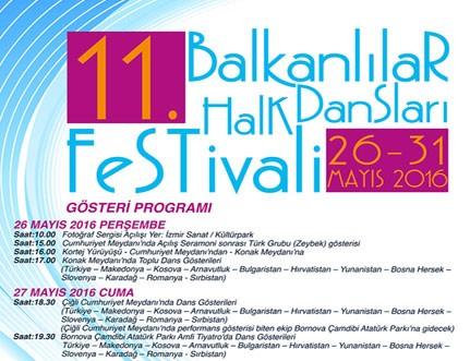 11. Balkanlılar Halk Dansları Festivali