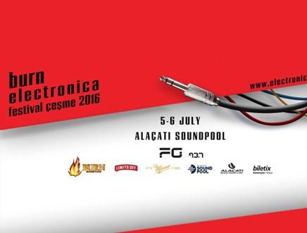 Burn Electronica Festival Çeşme 2016