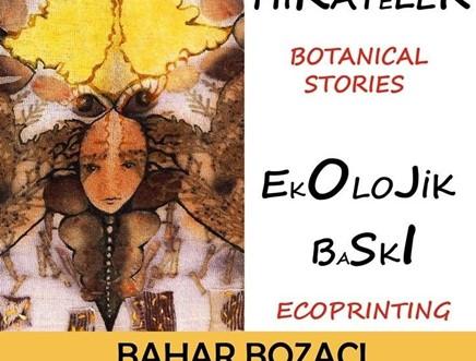 Ecoprinting Tekstil Sergisi/İzmir Resim Heykel Müzesi Kültürpark Sergi Salonu