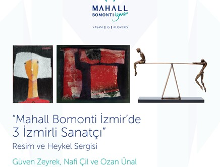 Mahall Bomonti İzmir'de 3 İzmirli Sanatçı
