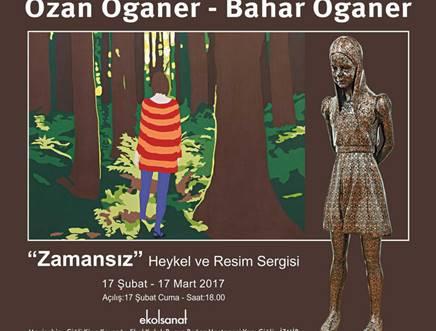 Ozan Oganer - Bahar Oganer  Heykel ve Resim Sergisi