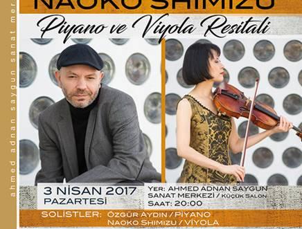 Piyano ve Viyola Resitali